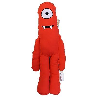 Yo Gabba Gabba Muno Red Cyclops Kids Plush Cuddle Pillow (24in): Toys & Games