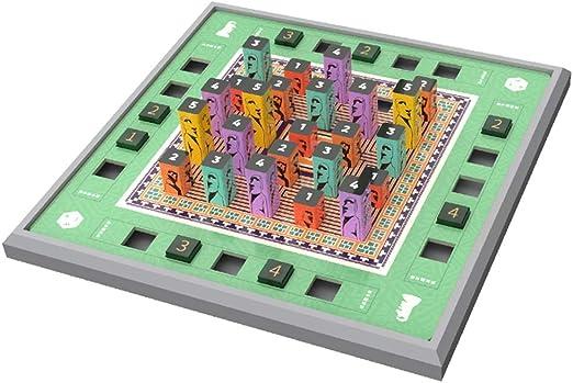 ZzheHou Tablero De Juego De Madera Sudoku Ayudas A La Formación Lógica Sentido De Los Números De Juguete Rompecabezas Sudoku Juego De Mesa Kistler 3D Sudoku For Niños Adecuado para Juegos Familiares: