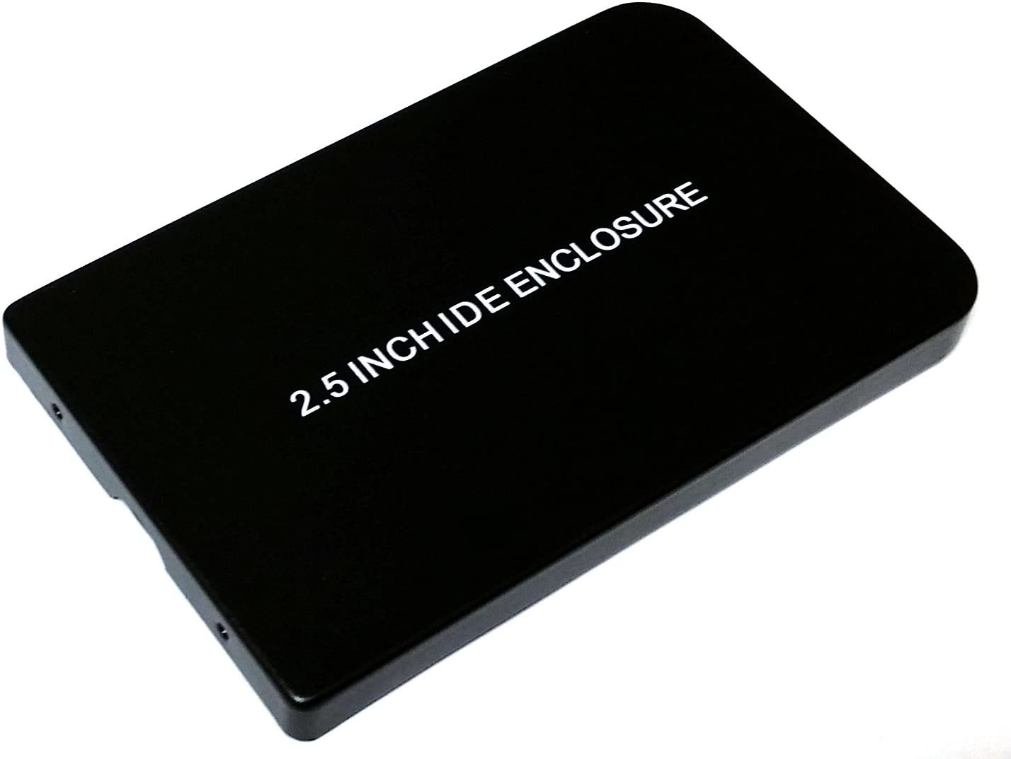 Importer520 USB 2.0 External 2.5-Inch IDE HDD Enclosure Case for Laptop Black