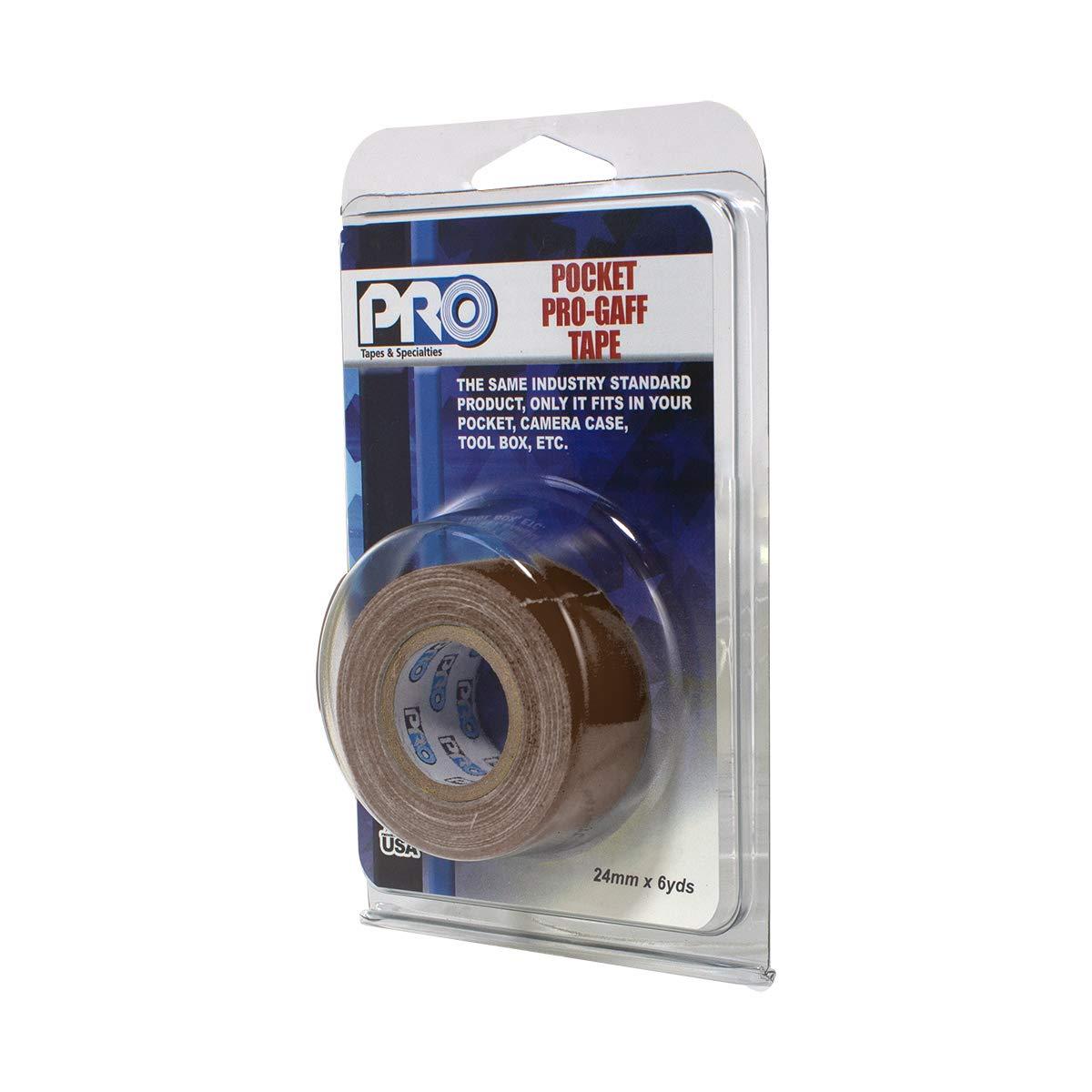 Electric Blue 1 x 6 yd ProTapes 306GB16MELEBLU1 PRO Pocket Gaff Tape