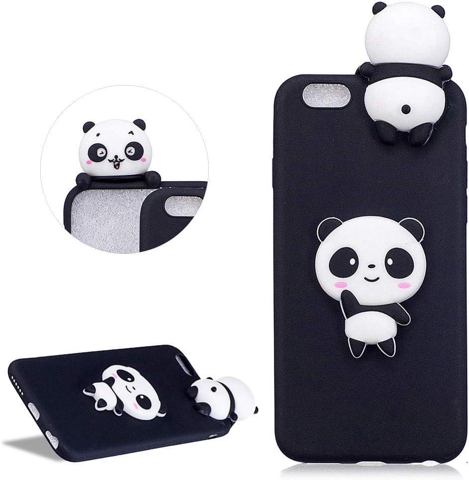 Daskan Karikatur 3d Panda Silikon Hülle Für Iphone 6 Elektronik