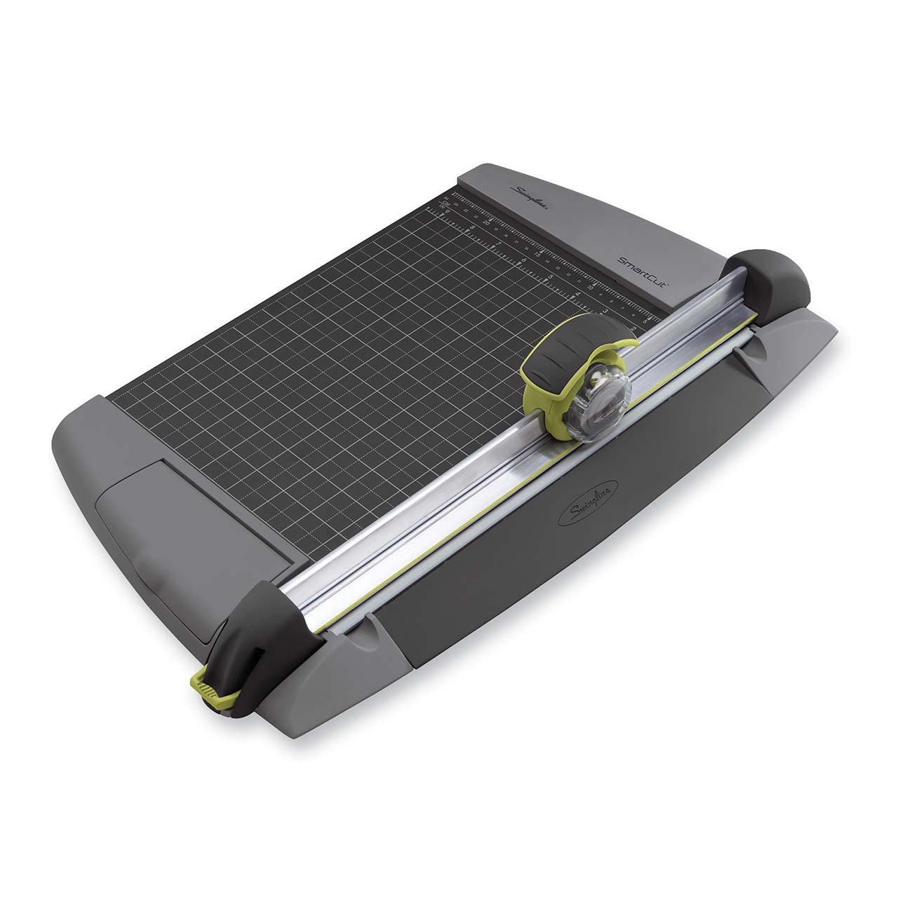Swingline SmartCut EasyBlade Plus Rotary Paper Trimmer, 12-Inch, 15 Sheet Capacity, Gray and Green (8912) ACCO Brands Canada Inc.