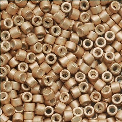Galvanized Sf Champagne (Db1152) Delica Myiuki 11/0 Seed Bead 7 2 Gram Tube  Approx 1400 Beads