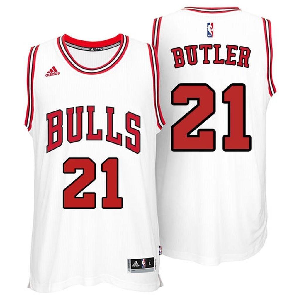 official photos eac70 c2164 Amazon.com : Jimmy Butler Chicago Bulls Adidas Swingman ...