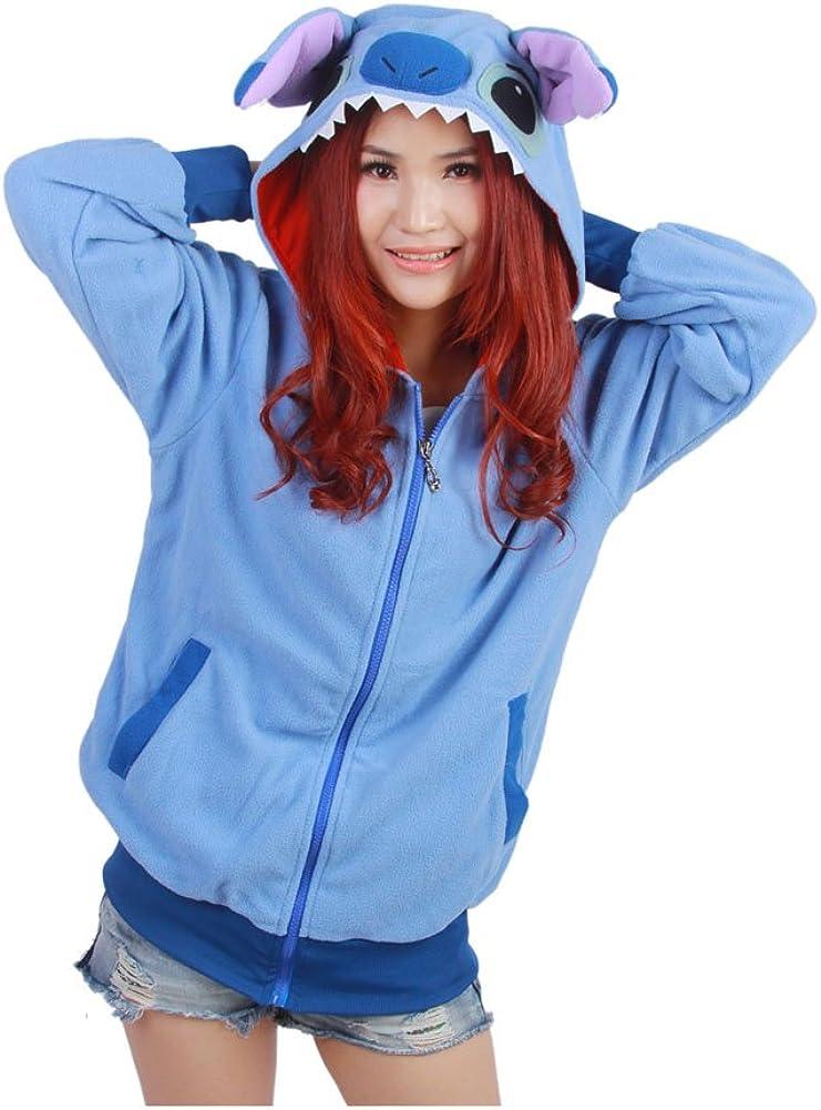 Amazon Com Harry Shops Halloweena Lilo Stitch Costume Hoodie Clothing