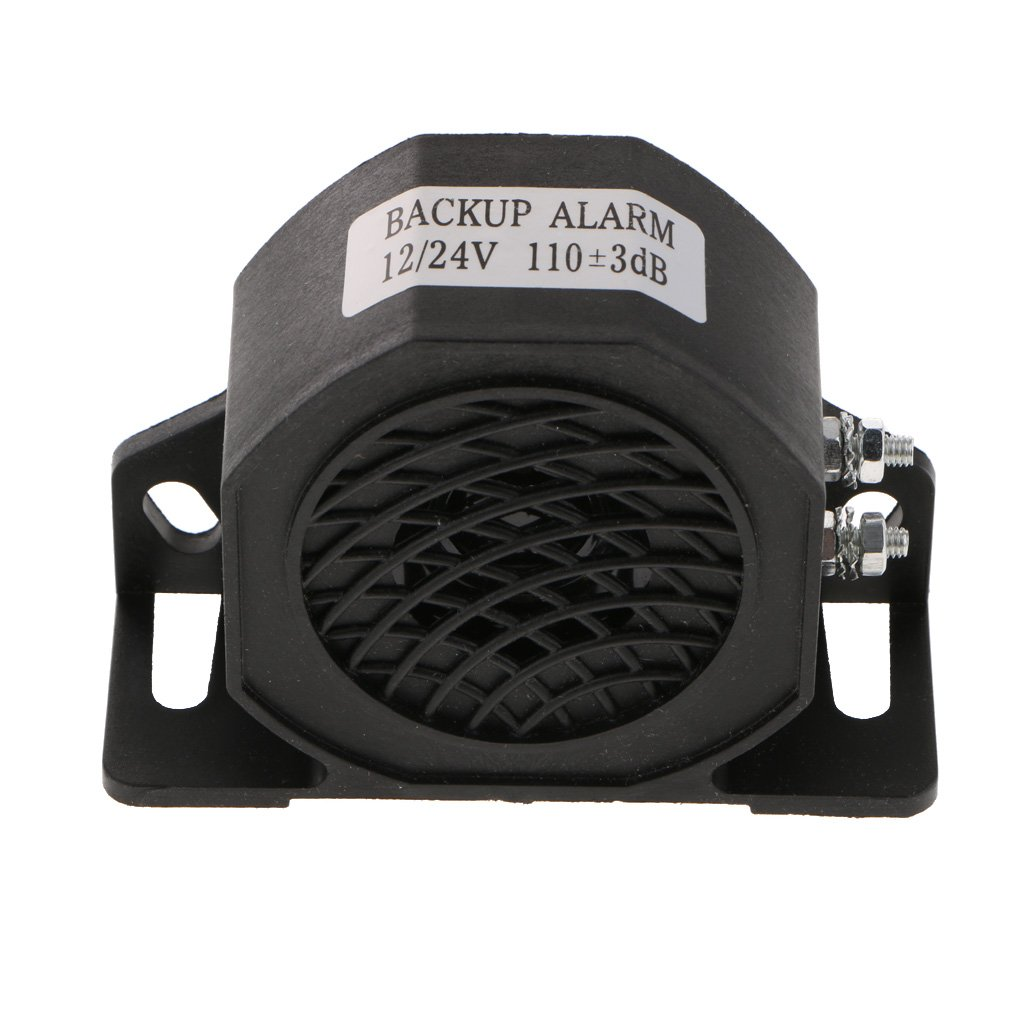 Homyl Car Truck Reverse Siren Buzzer Alarm Horn Speaker Back Up Alarm 110db Beeper