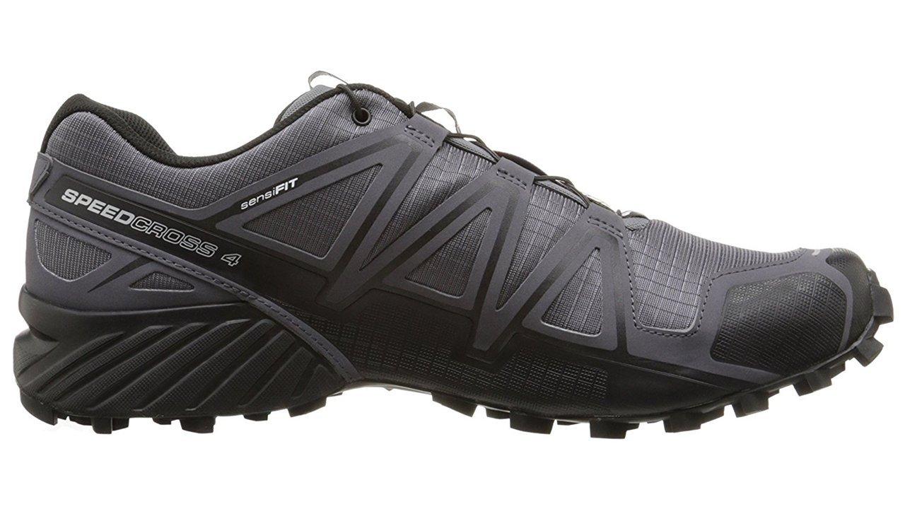 Salomon Men's Speedcross 4 Trail Runner, Dark Cloud, 7 M US by Salomon (Image #12)