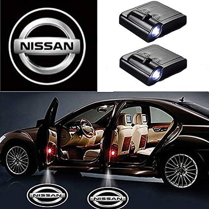 MIVISO Puerta de coche inalámbrica Led Bienvenido Proyector láser ...
