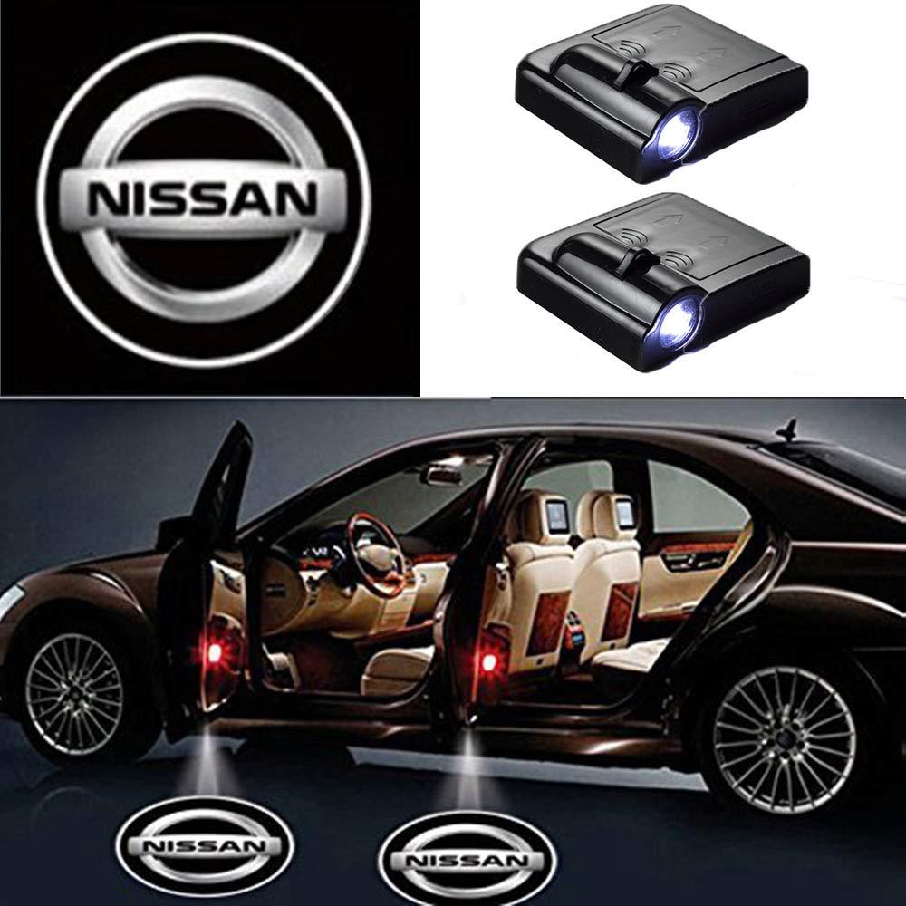 2 Pcs Car Logo Projector Car Door LED Lighting Logo Shadow Light MIVISO