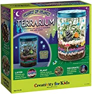 Creativity for Kids Grow 'N Glow Terrarium Kit for Kids - Science Activities for Kids (Packaging May V