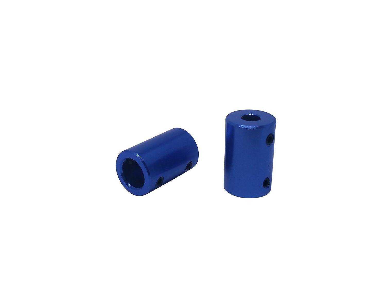 1 3mm x 6mm 2/x Starre onda embrague de aluminio seg/ún Elecci/ón