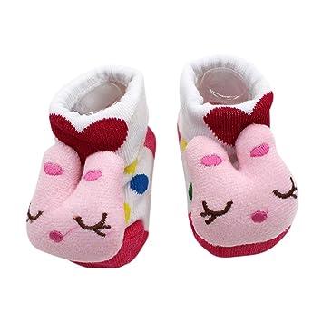 willsa bebé recién nacido Niñas Niños Cartoon Animal 3d calcetines antideslizante Slipper zapatos botas: Willsa: Amazon.es: Oficina y papelería