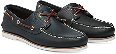 timberland chaussures bateau classique