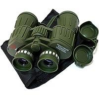 marque 60X50 Perrini verts jumelles de l'armée avec poche jour/nuit de prisme