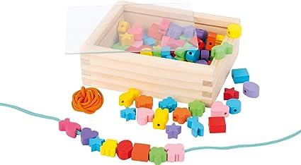 """Holz Fädelbox Perlen in Box /""""NEU/"""" Fädelkreativ"""