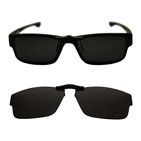 8a3666e4b63 Image Unavailable. Image not available for. Color  Custom Polarized Clip On  Sunglasses for Oakley Oakley Airdrop 57 OX8046 57-18-143
