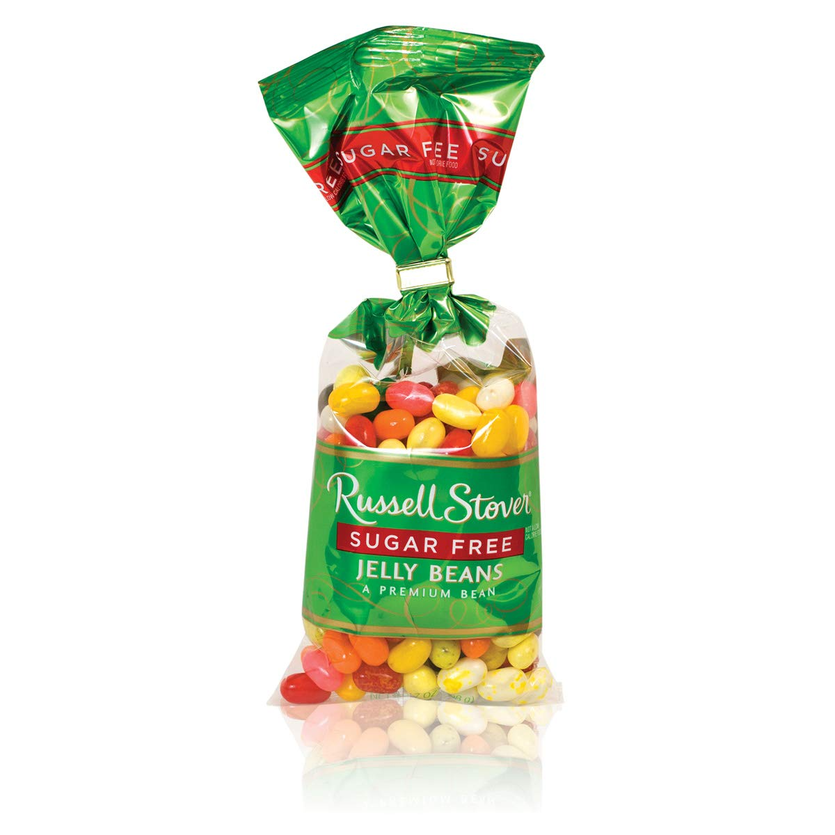 Russell Stover Sugar Free Jelly Beans, 7 Ounce Bag (Pack of 4) by Russell Stover