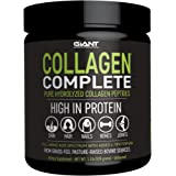 Collagen Complete Pure Collagen Powder Containing All Essential Amino Acids, Grass-Fed, Pasture-Raised, Non-GMO, and Gluten Free Hydrolyzed Collagen Peptides - 1 LB.
