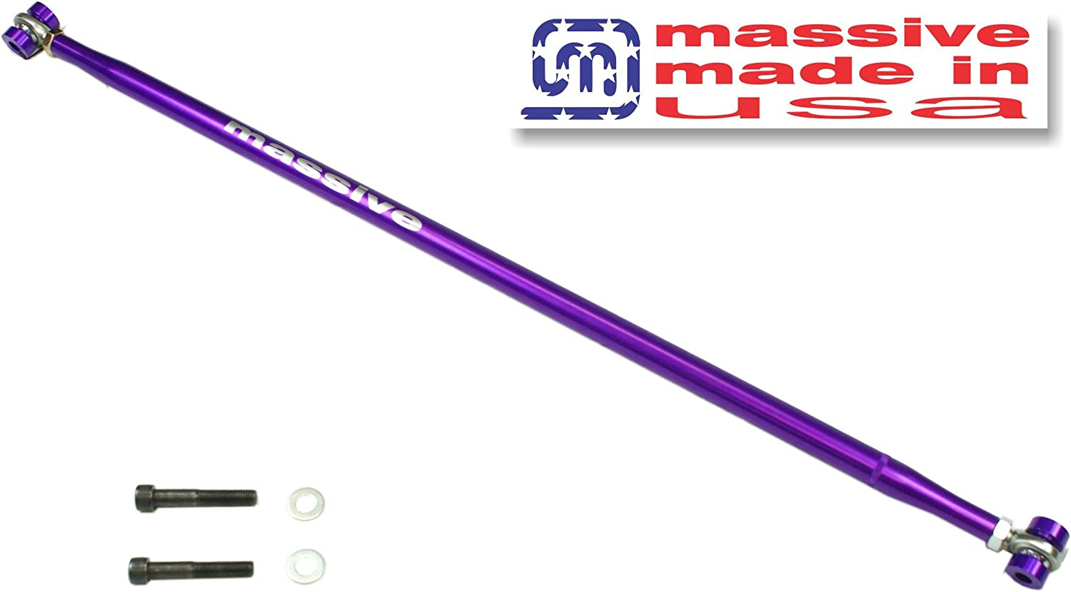 Panhard Bar Rod Made in USA Compatible w// 05-14 Ford Mustang S197 GT 500 Lightweight Adjustable Race Spec