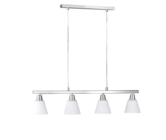 Wofi Mali 7204.04.64.0000 - Lámpara de techo colgante (bombilla incandescente, 160 W