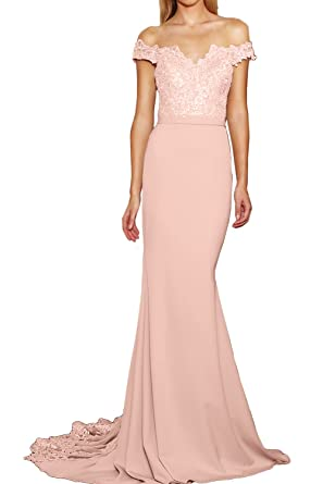 Ivydressing Elegant Abendkleid Ballkleid V-Ausschnitt gerade Kragen ...