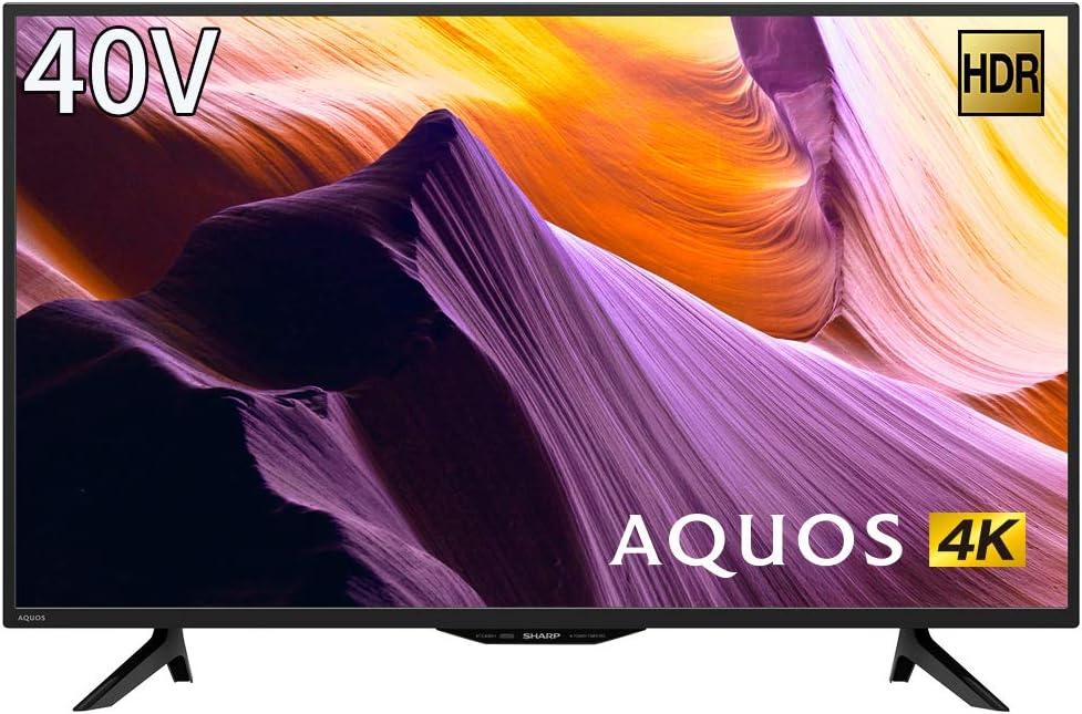 シャープ SHARP 40V型 4K チューナー内蔵 液晶 テレビ AQUOS HDR対応 4T-C40BH1