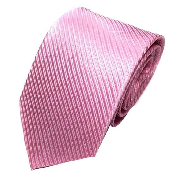 Gwendoll Diseño clásico Hombres Corbata Seda de poliéster suave ...