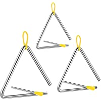 Triangulo Percusion Instrumentos Musicales,triangulo musical,triangulo musical infantil,Triángulo Musical con Batidor…