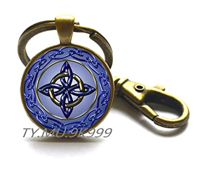 Amazon Irish Eternity Knot Keychain Celtic Keychain Celtic