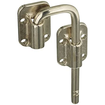 National Hardware N238 972 V800 Sliding Door Latch In Nickel