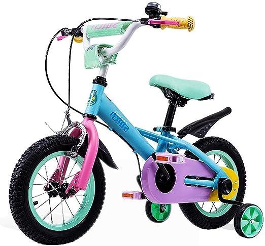 AJZGF Bicicletas niños Bicicleta for niños de 2 a 10 años ...