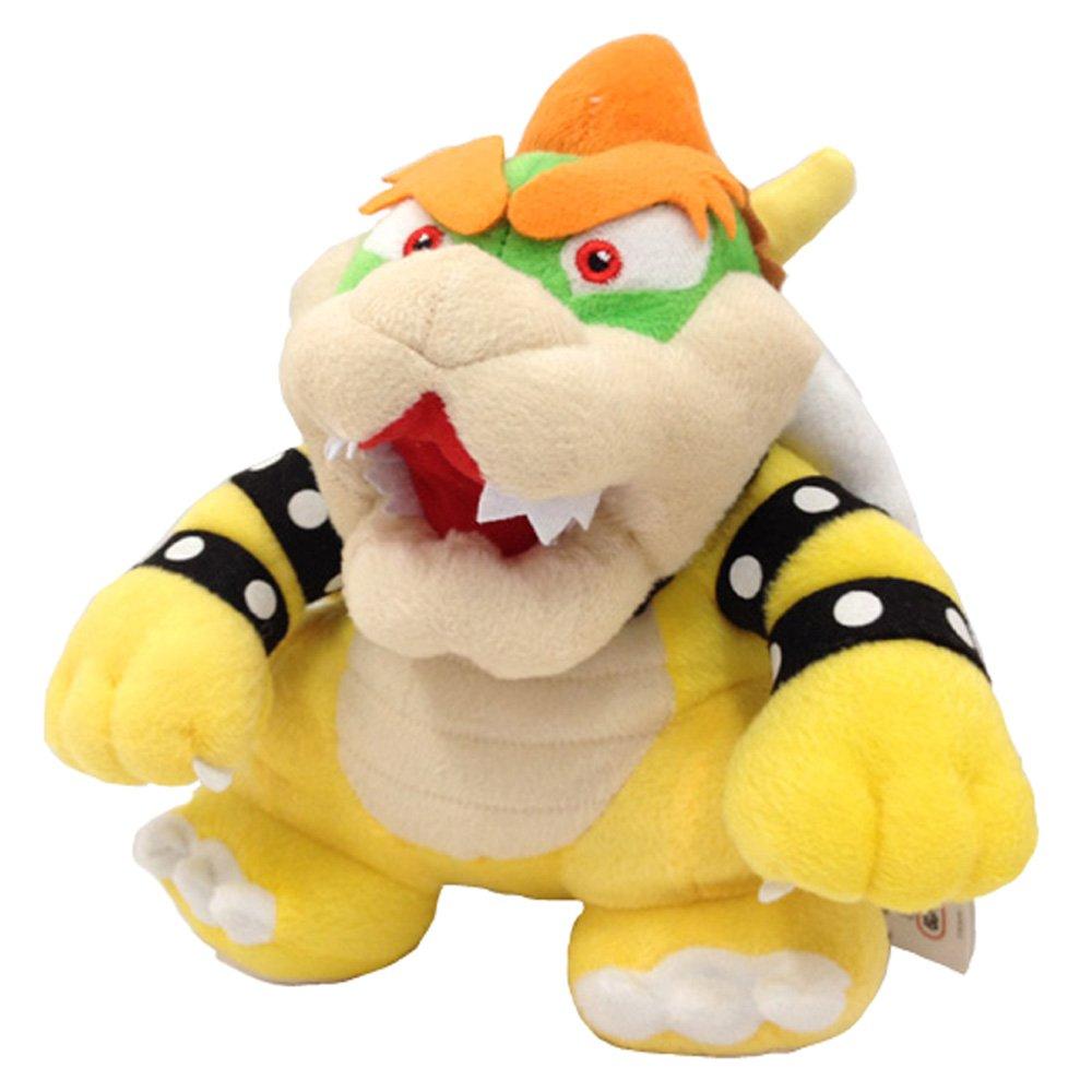 Peluche de Peluche Yijinbo Super Mario Bros King Bowser Koopa Kooper Boss 22,8 cm