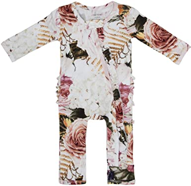 78170c455fad Posh Peanut One Piece Romper Silky Soft   Breathable - Premium Knit Infant  Clothing - Bamboo