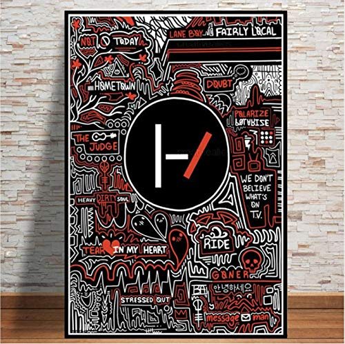 yhnjikl Hot Abstract Twenty One Pilots Rock Band Estrellas ...
