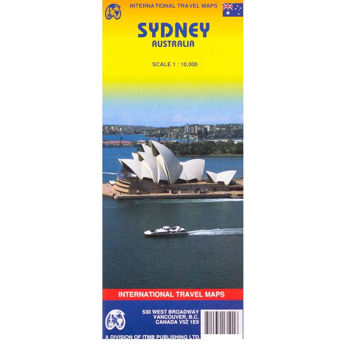 Read Online Sydney 1:10,000 Street Plan (Australia) pdf