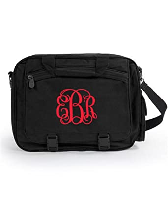 48133c99a8 Monogrammed UltraClub Large Briefcase Royal