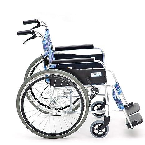 KAD Ligero Plegable Silla de ruedas para niños Conducción ...