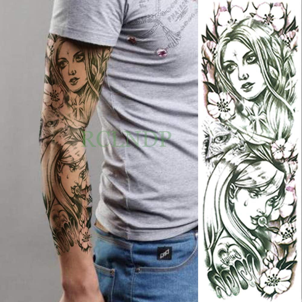 Handaxian 3 Piezas Pegatinas de Tatuaje a Prueba de Agua Belleza ...