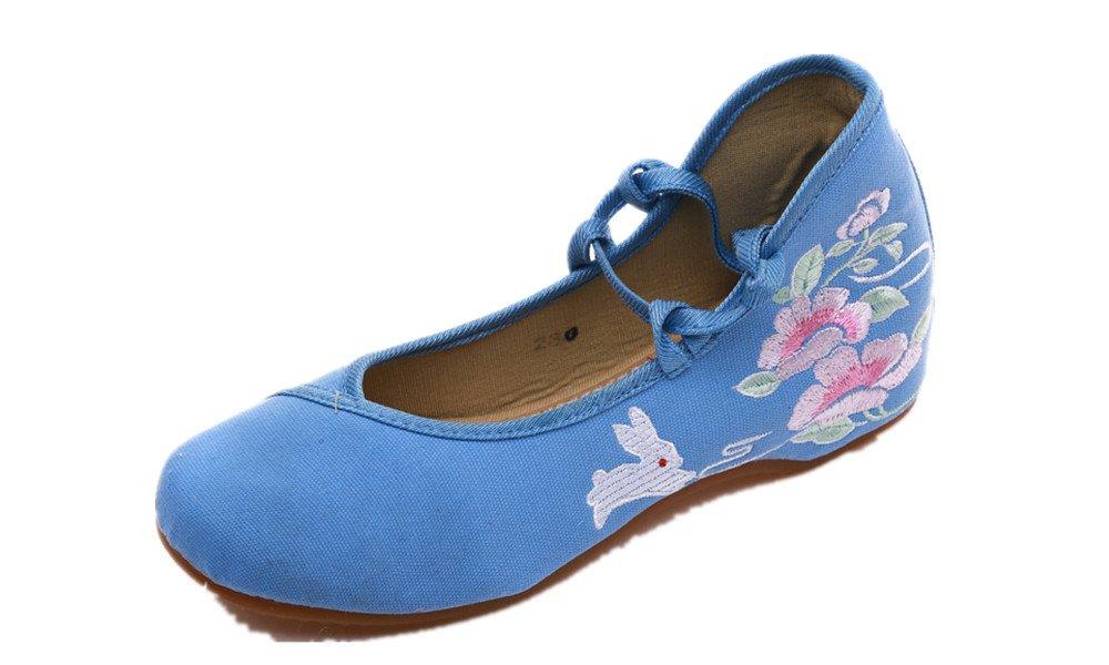 Tianrui Crown Bleu Sandales B06Y262B6N Tianrui Pour Femme Bleu 7887767 - shopssong.space