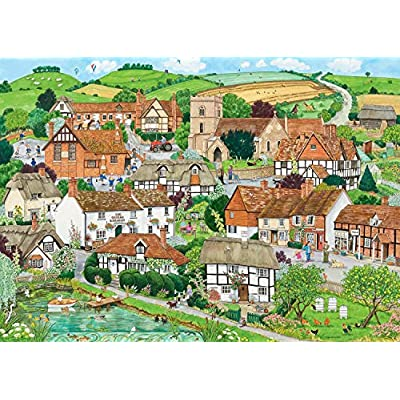 Ravensburger Rurale Retreat Puzzle Da Pezzi