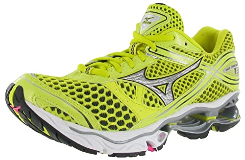 4c7cfac9fda1 Amazon.com: Mizuno Wave Creation 13 Womens Size 6 Yellow Mesh Running Shoes:  Mizuno: Sports & Outdoors