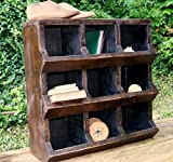 Reclaimed Wood Chicken Coop Storage Bin - 9 Cubbies
