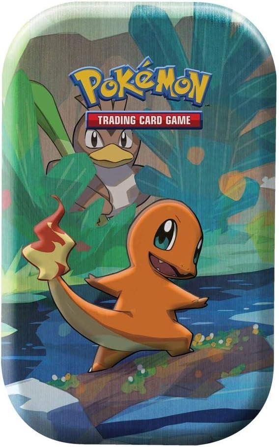 Lively Moments Naipes de Pokemon Mini Caja de Lata Glumanda de ...