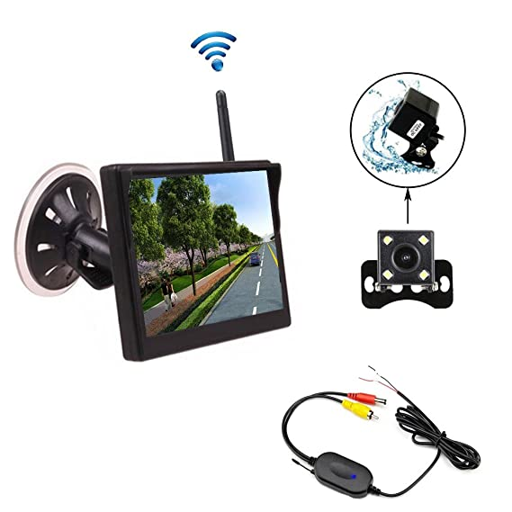 Mini Wireless Backup Camera System - WIRE Center •