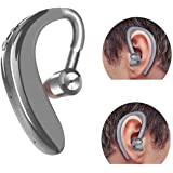 Meckwell s109 Single Wireless 18 Hours of Calling with 1 Hour Charge Bluetooth Headset in Silver with Mic Designed for All iOS and Android Smartphone
