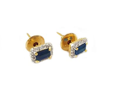 2044f261b07e2 Jia Lifestyle -Tops Earrings for Cute Girls ladies stylish latest Blue  color---