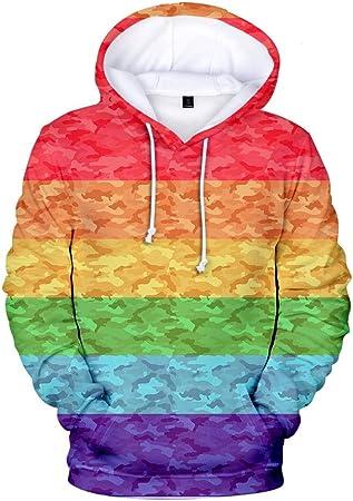 TONGS Chandail LGBT Dessin Animé Imprimé Sweat Shirt