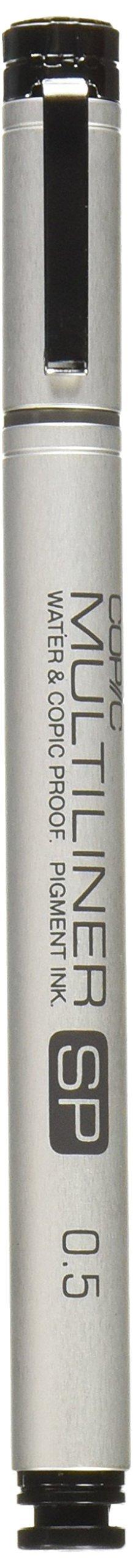 Copic Multiliner SP Black Ink Marker, 0.5 Tip by Copic Marker