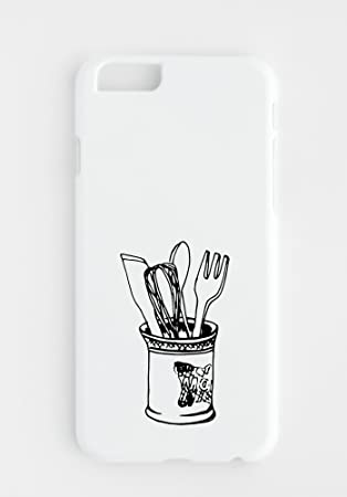 iPhone Cover with Knife Fork Spoon Licuadora: Amazon.es: Electrónica