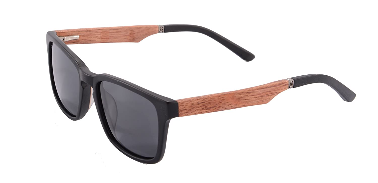 European Designed Acetate Sunglasses Wooden Eyeglasses Men Women Driving Polarized Eyewear- ZF111